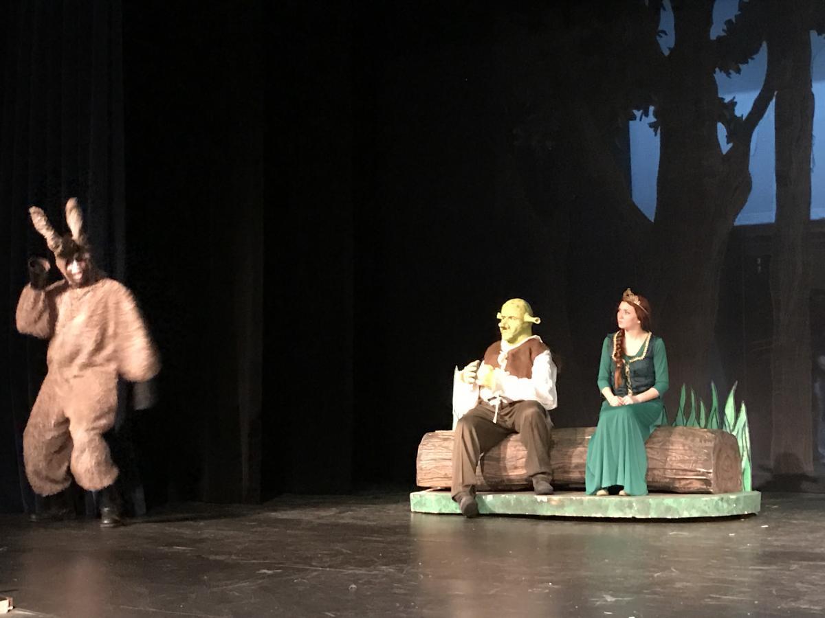 Shrek, Fiona and Donkey