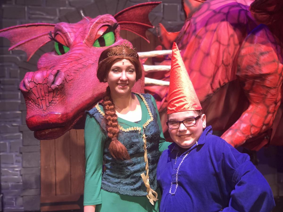 Fiona and Garden Gnome